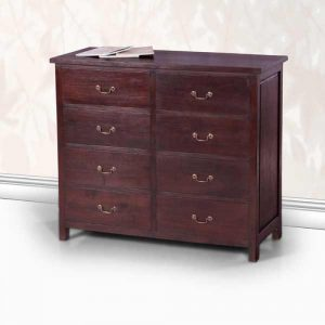 teak classic chest of drawers..