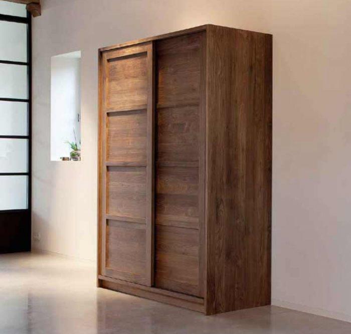 2 door Teak wardrobe