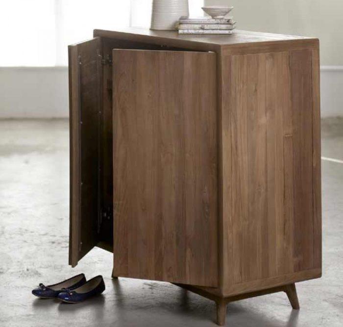 modern shoe cabinet