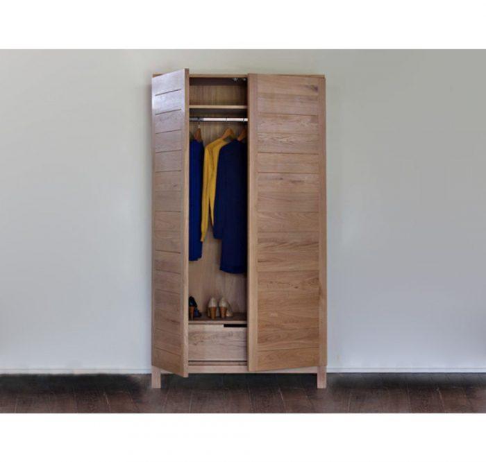 teak designer wardrobe