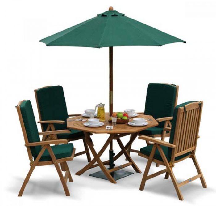 teak folding dining set