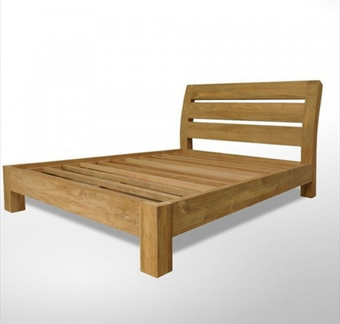 teak solid bed kl malaysia