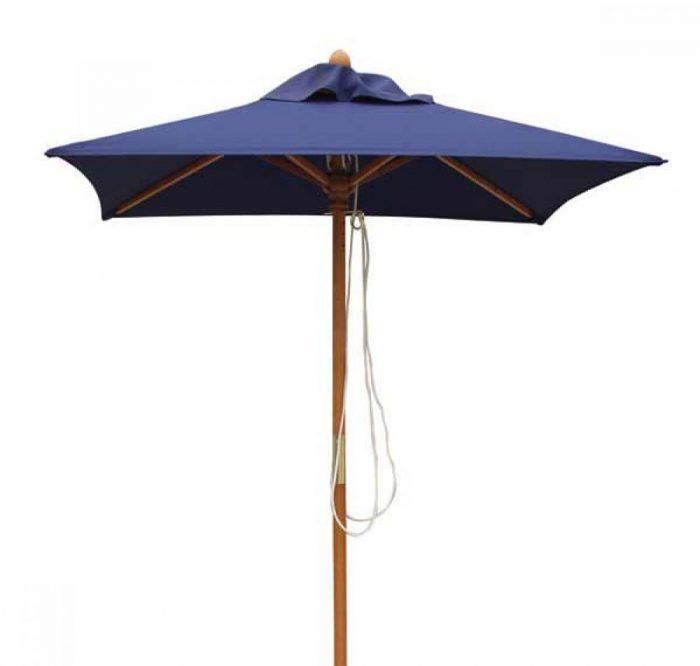 square garden parasol