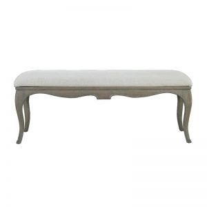 mille french style bed end stool