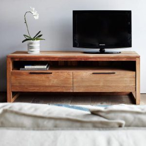 teakwood tv cabinet