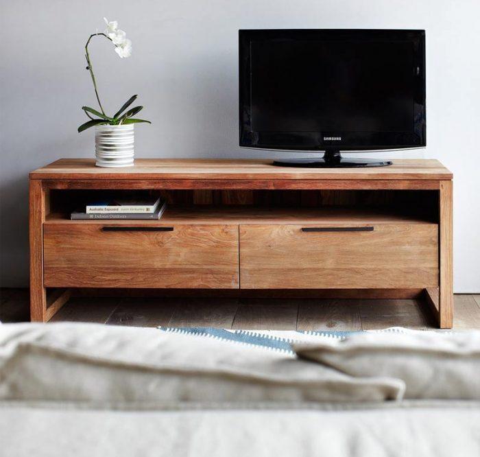 teakwood tv cabinet