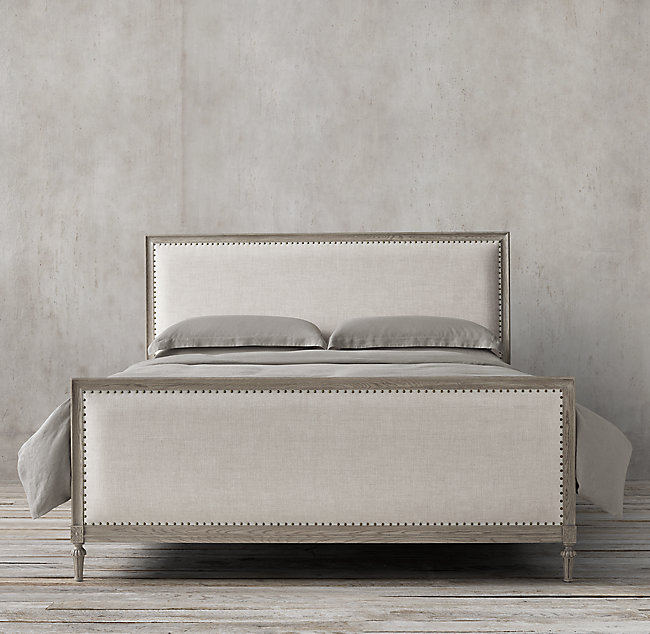 french louis bed frame
