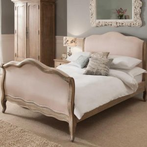 sleigh antique bed