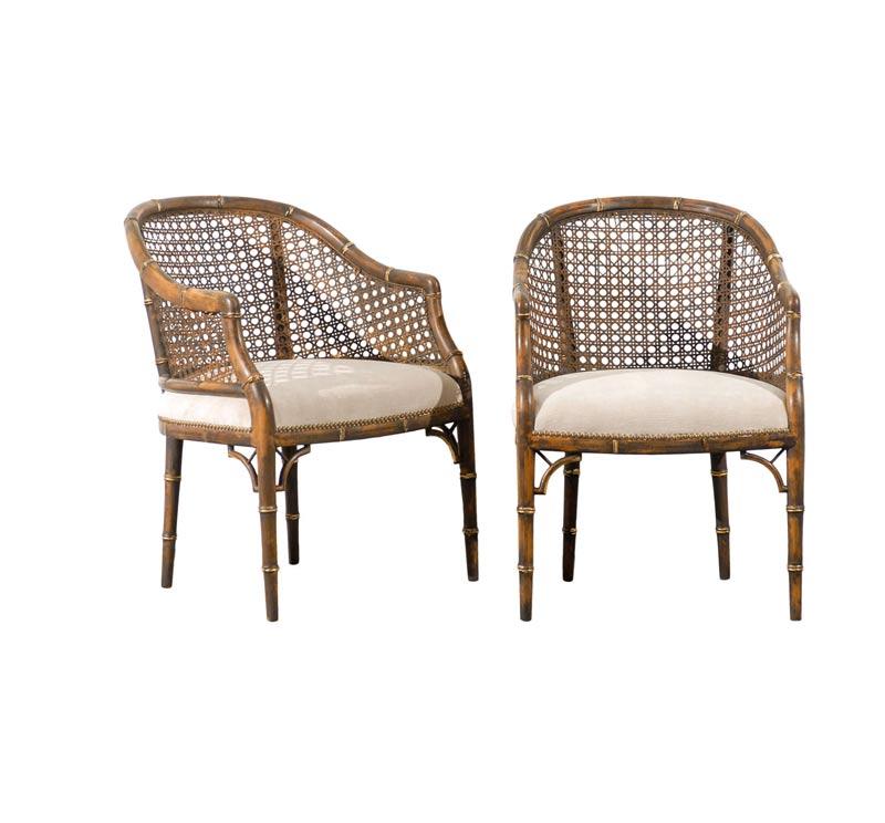 Cane Vintage Armchair