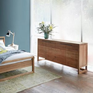 contemporary teak Sideboard