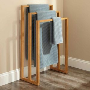 Teak Towel Rack