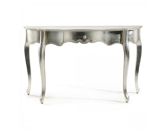 Silver french dressing table