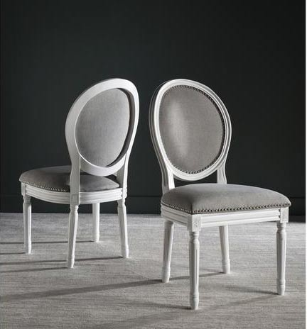 Oval dining chair