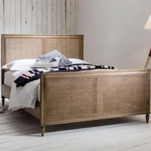 Rattan French Bed