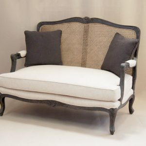 french 2 seater sofa