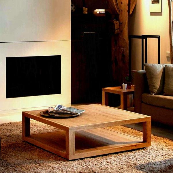 Teak Wood Coffee Table Malaysia